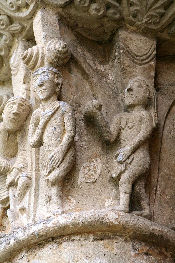 682px-Abbaye_de_la_Sauve_Majeure_-_Fall_of_Man