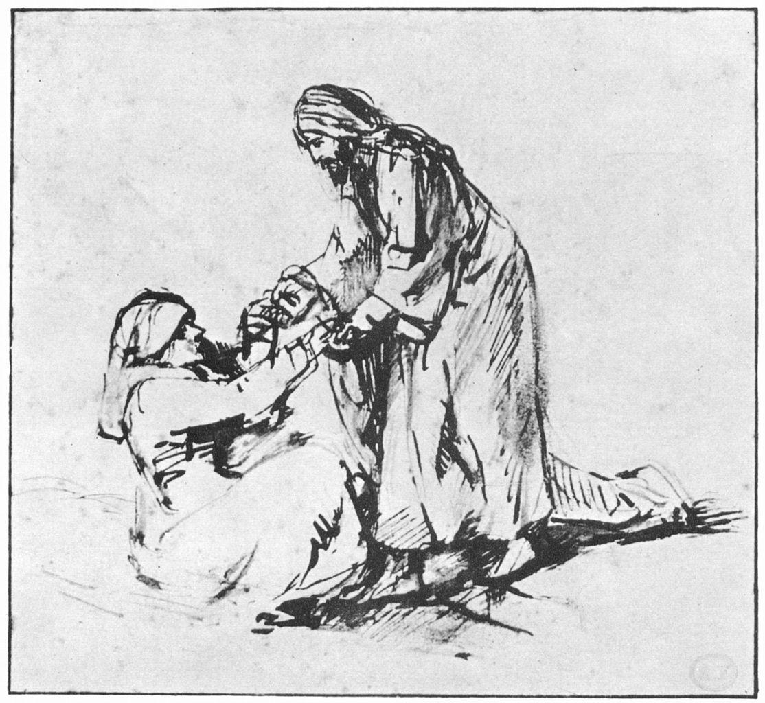 Rembrandt_Heilung_der_Schwiegermutter_des_Petrus