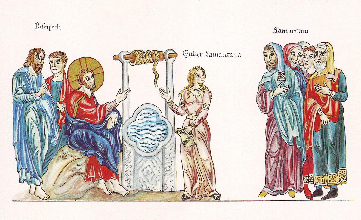 Hortus_Deliciarum_Jesus_und_die_Samariterin_am_Jakobsbrunnen-small